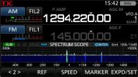 2波同時受信表示例